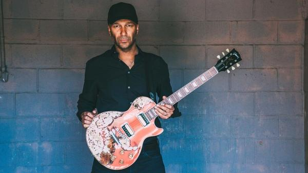 Tom Morello's solo debut record, <em>The Atlas Underground</em><em></em>, is out now via Mom + Pop Music.