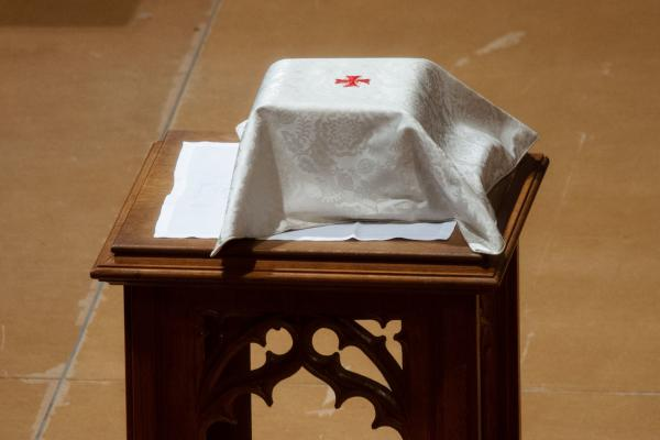 Shepard's ashes were interred at the cathedral's crypt in a private family ceremony.