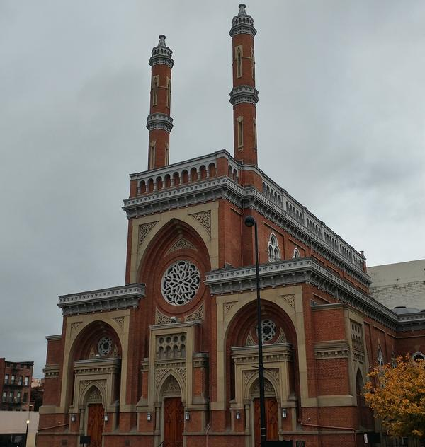 Plum Street Temple, the Downtown arm of Isaac M. Wise Temple in Amberley Village, is one of several synagogues in the Cincinnati area.