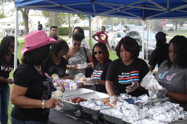 Black churchgoers in St. Pete celebrated the final day of early voting with food, music and a get-out-the-vote effort.