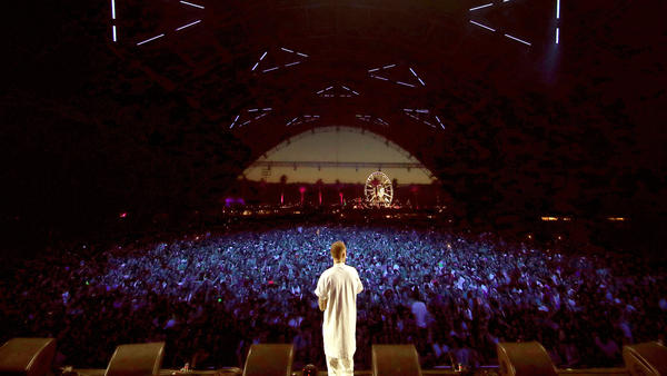 Mac Miller, performing on April 14, 2017 at Coachella. The rapper's death on Sept. 7 was determined to have been an accidental overdose.