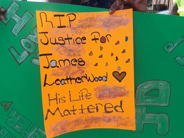 James Leatherwood was killed on Sept. 5, 2018 by a Hollywood SWAT officer. He was unarmed.