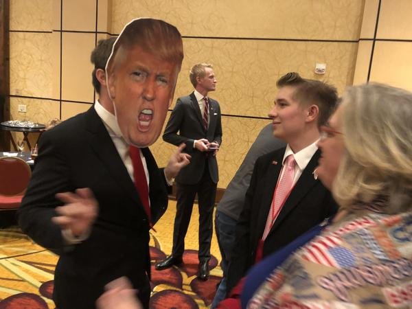 The GOP watch party continued to be lively, despite some disappointing losses.
