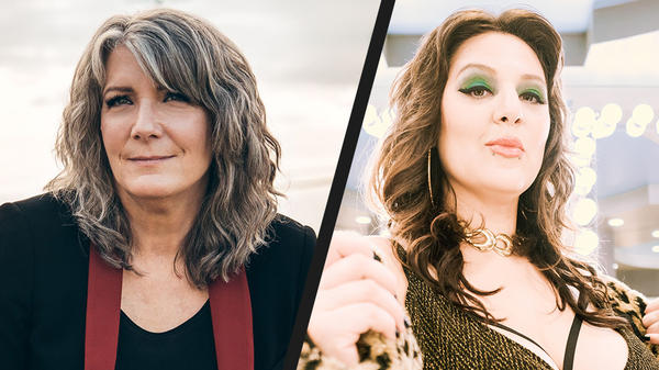 Kathy Mattea and Alanna Quinn-Broadus