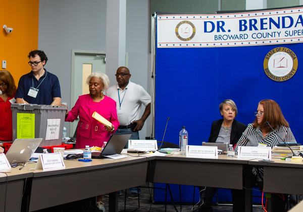Broward Supervisor of Elections Brenda Snipes says the vote recount will be completed by the 3 p.m. Thursday deadline.