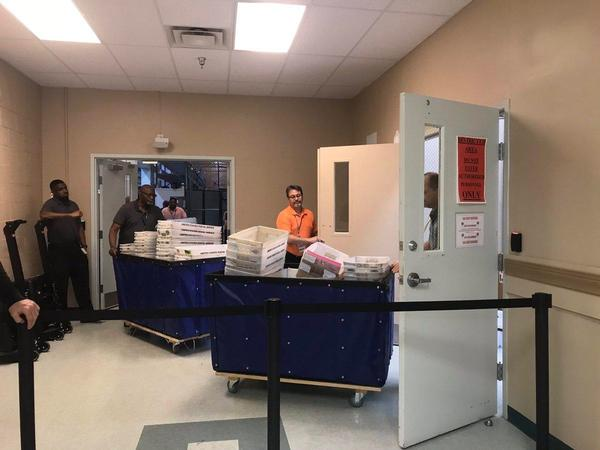 Attorney for Broward's elections department and Gov. Rick Scott's senate campaign agreed with a judge's order to put three extra law enforcment officers at the elections office.