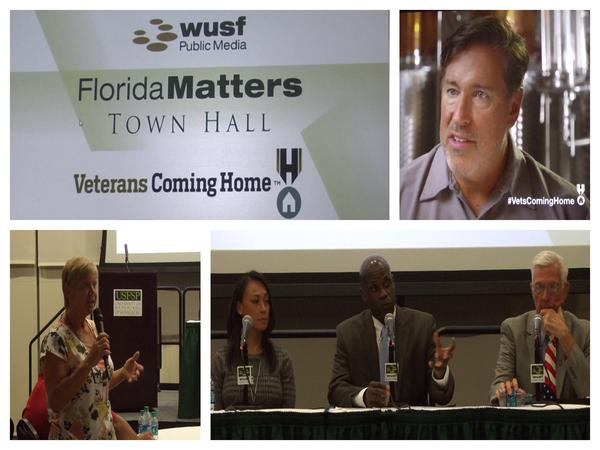 This week on Florida Matters we hear highlights from our recent town hall and video screening on veteran business owners.