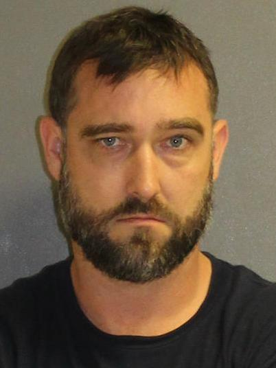 """Jared Coburn , 37, (pictured) """"tried to explain to us that he was making his own version of a firework,"""" Lake Helen Police Chief Mike Walker said."""