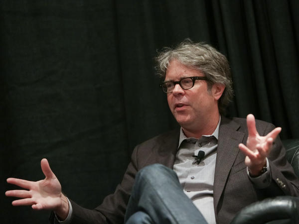 Author Jonathan Franzen speaks at BookExpo America at the Javits Center on May 27, 2015, in New York City.