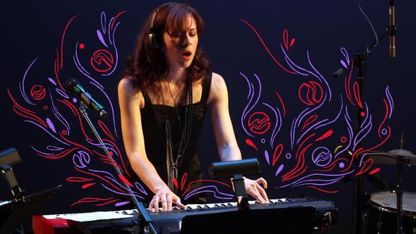 Missy Mazzoli performing in New York City in 2012.
