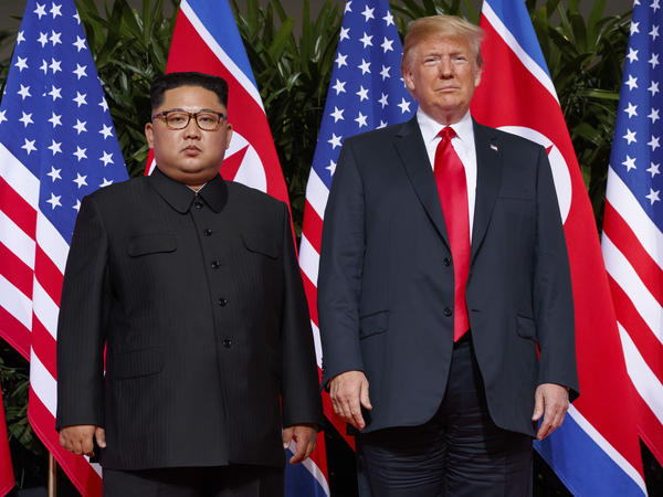President Trump and North Korean leader Kim Jong Un signed a declaration in June, but the vague language may be hampering further negotiations.