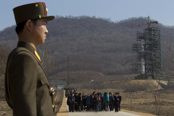 North Korea promised to dismantle its Sohae satellite launching station in June, but it has not yet done so.