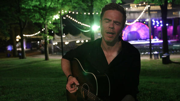 Josh Ritter is one of many artists who took an instrument to some quiet and far-flung place to give NPR Music a late-night show.