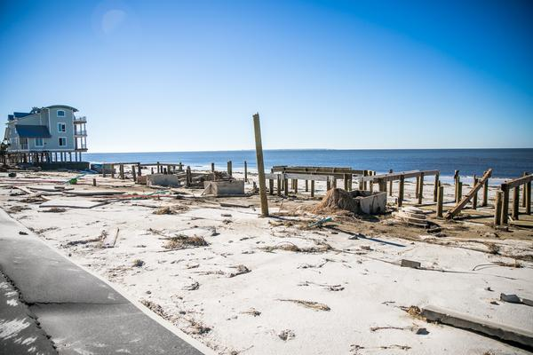 Mexico Beach was among the areas hit heaviest by Hurricane Michael in 2018.