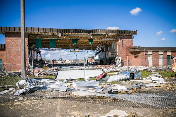 Panama City was devastated by Hurricane Michael in 2018.