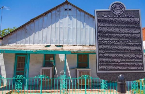 Pancho Villa Stash House in El Paso's Segundo Barrio.