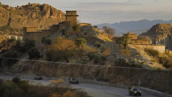 Professor Ajmal Khan was held captive in South Waziristan, the Pakistani tribal area bordering Afghanistan where the Taliban holds power.