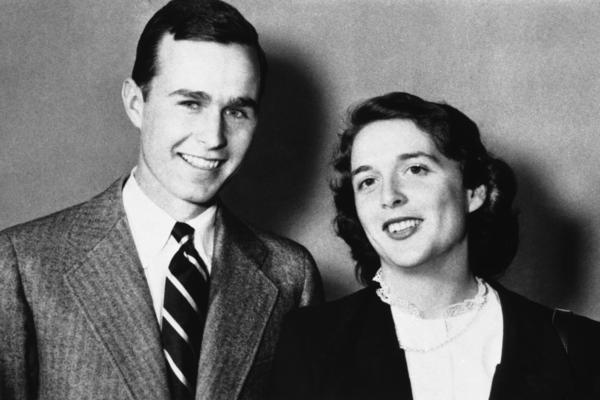Bush married Barbara Pierce in 1945. They had six children and were married 73 years.