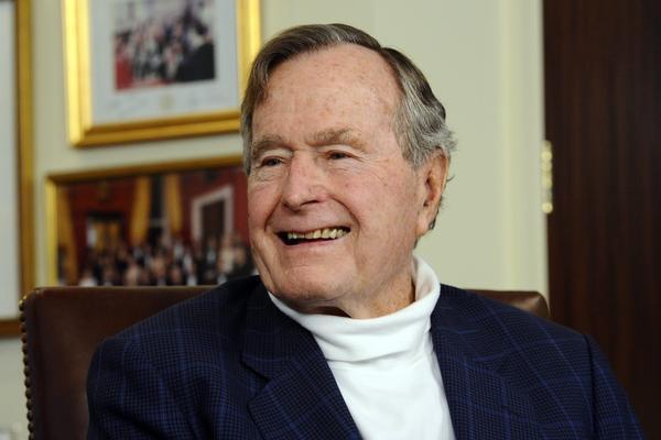 Bush endorses former Massachusetts Gov. Mitt Romney for president in 2012.