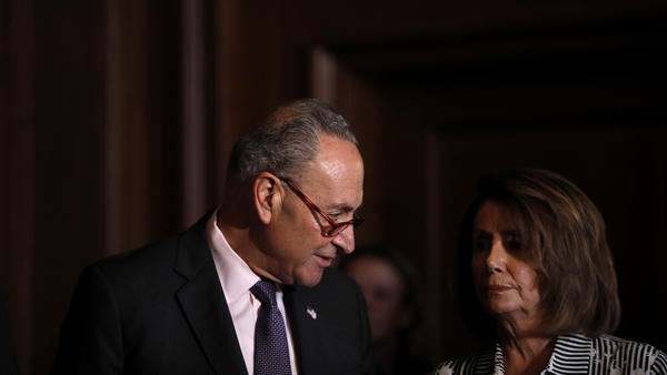 Democrats, led by Senate Minority Leader Chuck Schumer and House Minority Leader Nancy Pelosi, have been hopeful about making big gains in the midterm elections, but a new NPR/PBS NewsHour/Marist poll shows Republican enthusiasm surging.