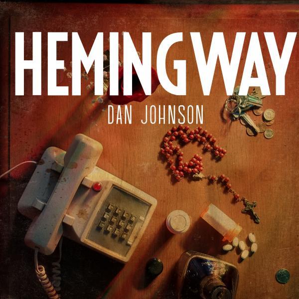 Dan Johnson's album cover. Graphic design by Javi Garcia.