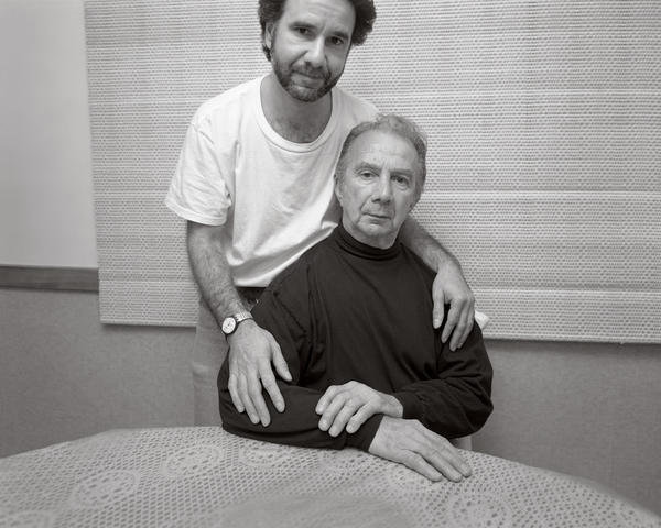 Stephen and Gene DiRado — a son and his father — in Marlborough, Mass., Oct. 29, 1998.