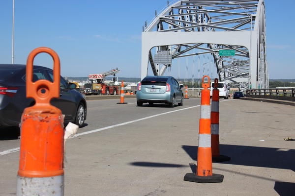 Kansas City will receive a $25 million federal grant to replace the Buck O'Neil Bridge.