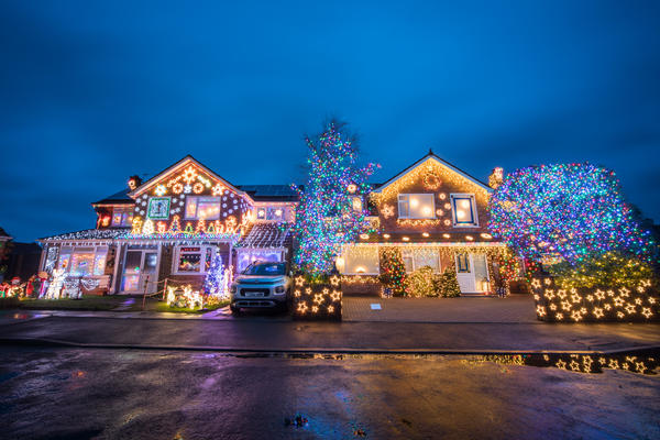 During the holiday season, some houses just shine, literally. NPR's <em>Weekend Edition </em>wants to hear about your experiences finding passed-down holiday decorations after moving into a new house.