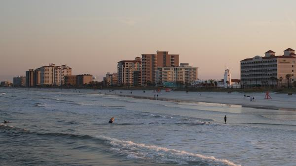A view of Jacksonville Beach. Seismic testing could be coming to Florida's Altantic coast.