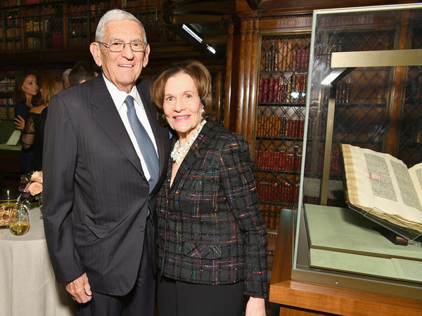 Eli Broad and his wife, Edye, are active in California political circles and have given away more than $4 billion of their wealth.