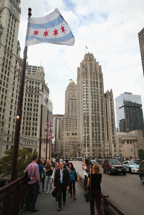 The <em>Chicago Tribune</em> and Tribune Publishing moved out of the iconic Tribune Tower earlier this year.