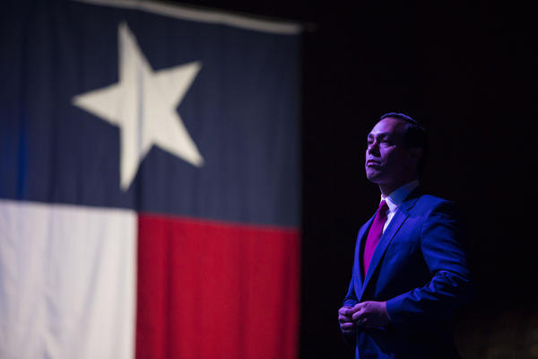 Julián Castro speaking at the 2018 Texas Democratic Convention in Fort Worth.