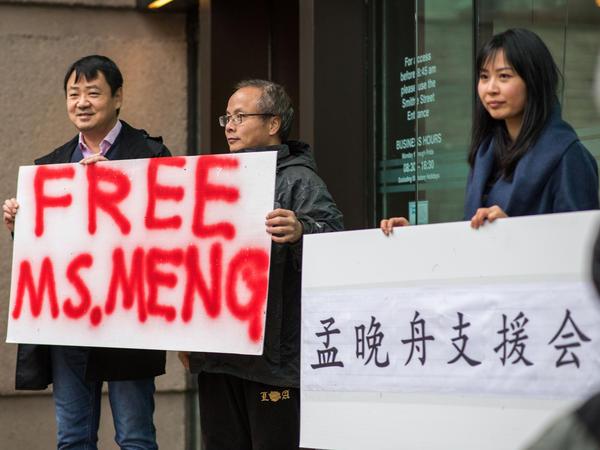 Meng Wanzhou's arrest has caused an uproar.