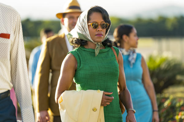 Regina King stars as Sharon, the mother of embattled young lover Tish, <em>If Beale Street Could Talk</em>.