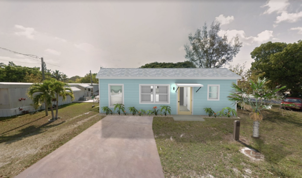 A rendering for one of the 'tiny homes' that could be built on county-owned land in the Keys.