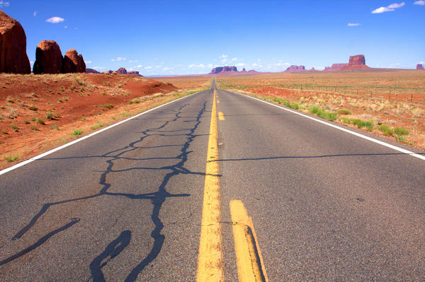 A report from the U.S. Commission on Civil Rights found that road conditions and other parts of infrastructure on Indian reservations were underfunded and poorly maintained.