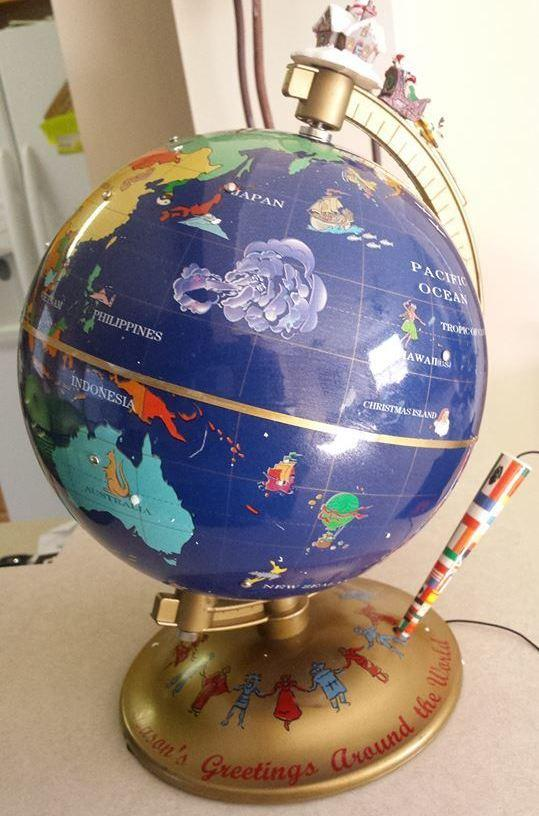 Bahby Banks keeps the memory of her mom, Dorothy, alive in many ways but especially through music and this little globe.