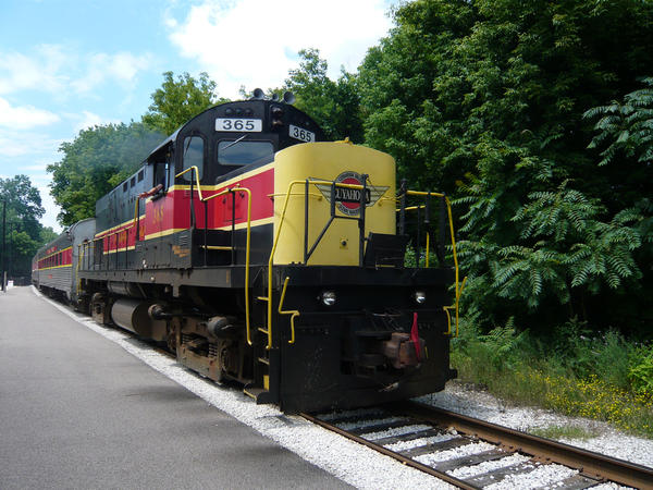 The Cuyahoga Valley Scenic Railroad has already wrapped up its year and is not being impacted by the government shutdown.
