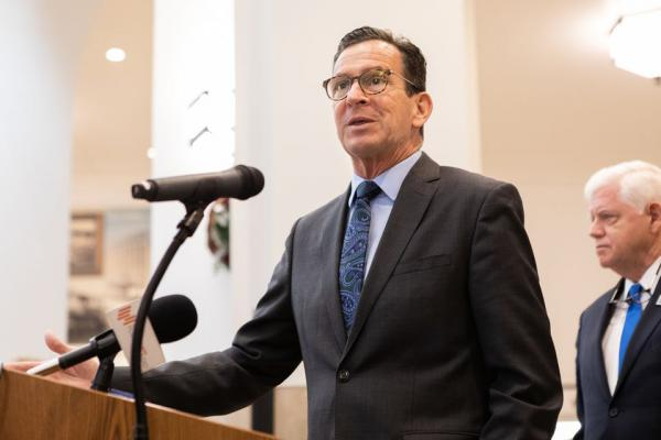 Outgoing Connecticut Governor Dannel Malloy acknowledged capacity problems on a newly-established rail line.