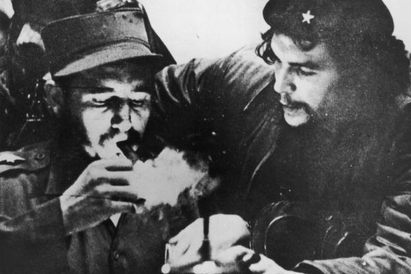 "After a stint in prison, Castro went into exile in Mexico, where he founded the 26th of July movement and met fellow revolutionary Ernesto ""Che"" Guevara."