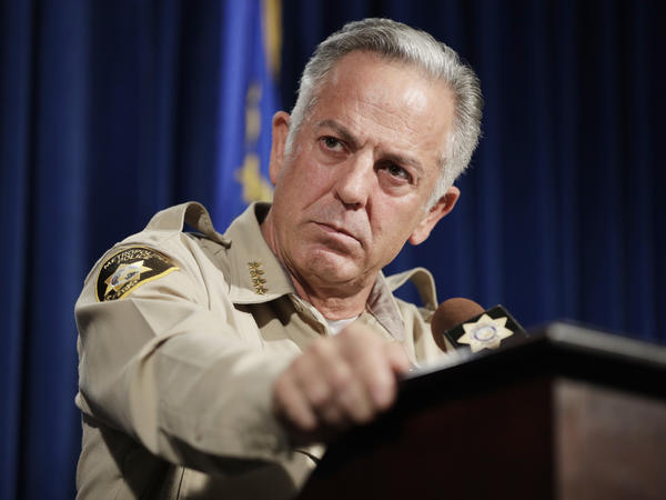 "Clark County Sheriff Joe Lombardo announced the end of the department's investigation of the October 2017 mass shooting in Las Vegas on Friday. Lombardo told reporters that officials could not determine a ""definitive motive"" that prompted the massacre."