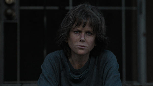 Nicole Kidman stars as Erin Bell, a hard-boiled detective facing an old foe, in Karyn Kusama's <em>Destroyer.</em>