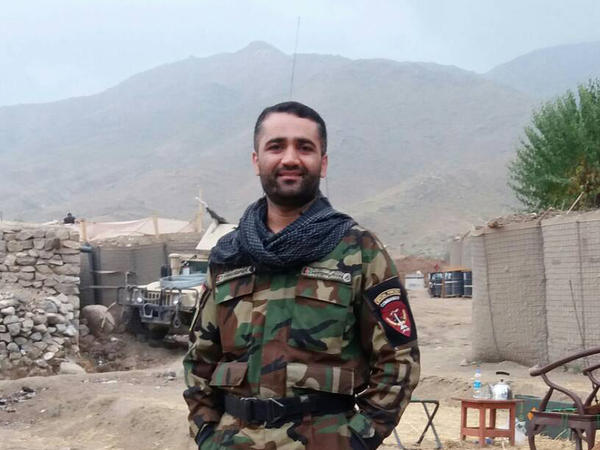 Afghan commando Maj. Shoaib Moradef, 33, died on Sept. 2 in a military airplane accident in Mazar-i-Sharif, in northern Afghanistan.