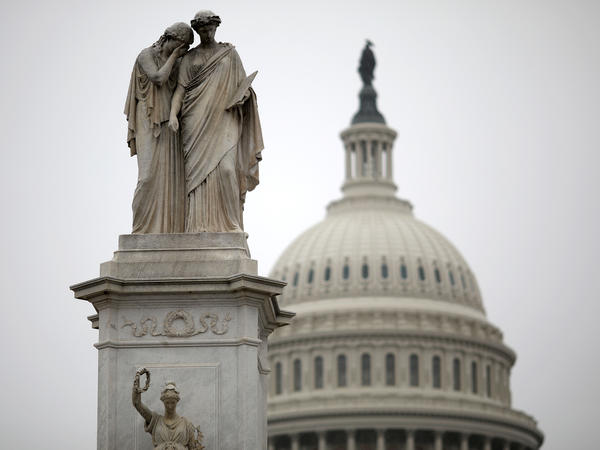 Capitol Hill is quiet on New Year's Eve as a partial government shutdown continues. The stalemate is unlikely to be resolved before a new Congress convenes on Thursday.