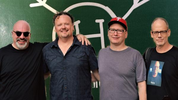 Huffamoose (left to right): Erik Johnson, Kevin Hanson, Jim Stager and Craig Elkins.