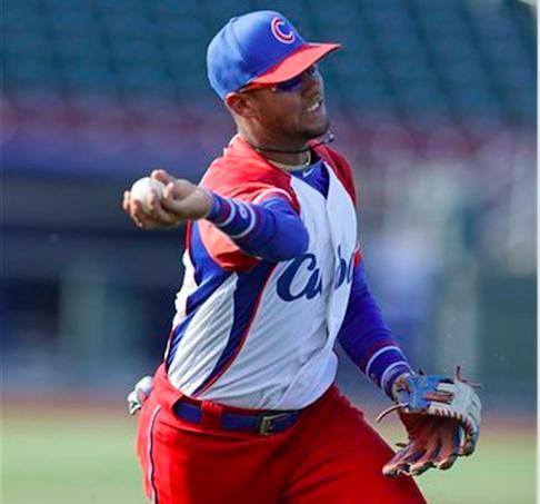 Cuban baseball star Yulieski Gourriel, who defected to the U.S. in 2016.