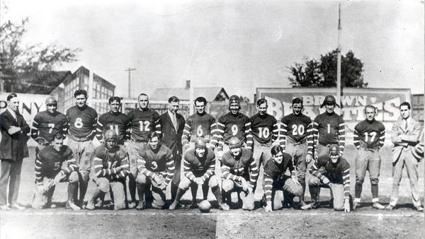 Rock Island Independents 1925 team photo