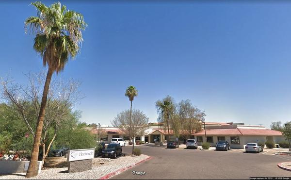A Hacienda HealthCare location in Phoenix, where a woman said to be in a vegetative state gave birth to a child last month. Police are now investigating the incident.