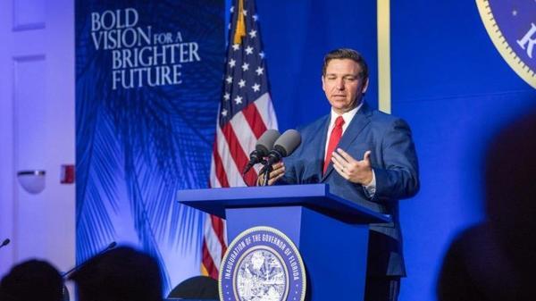 Florida Governor Ron DeSantis.