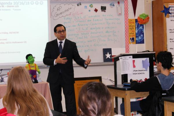 State Rep. Diego Bernal, D-San Antonio, was a member of the Texas Public School Finance Commission